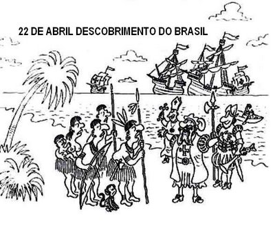 Desenhos Para Colorir Projeto Descobrimento Do Brasil