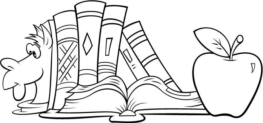 Desenhos para colorir projeto volta as aulas 01 - Dibujos de estanterias ...